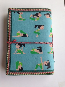 Teal Blue Yoga Journal