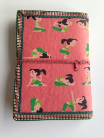 Deep Peach Yoga Journal
